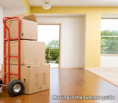 moving in summer