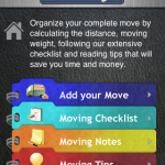 MyMove iPhone moving application