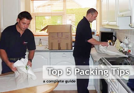Moving tips guide