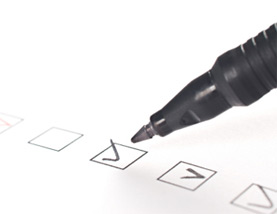 Finish moving checklist