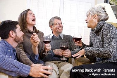 Moving back with parents