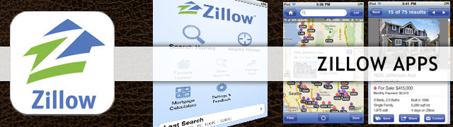 Zillow iPhone Android app