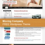 Moving Company Theme for Wordpress