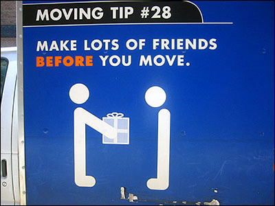 Funny moving tips