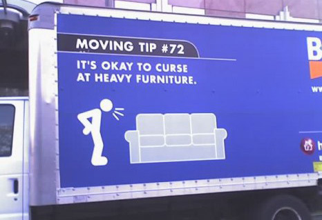 Hilarious moving company pictures