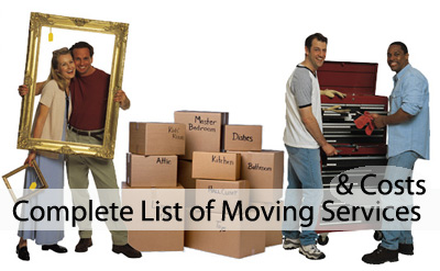 List of moving services