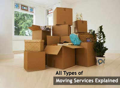 Types - Moving Services