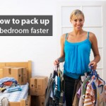 Pack up bedroom tips