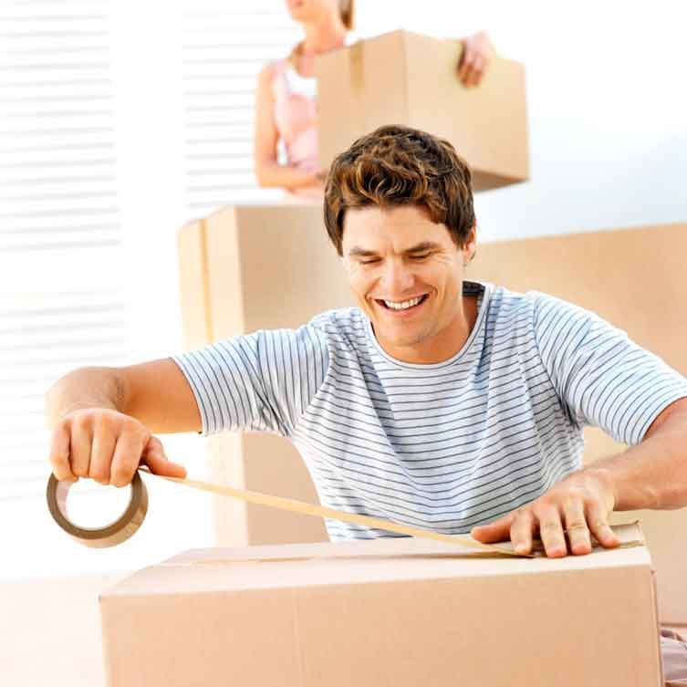 Packing to move tips