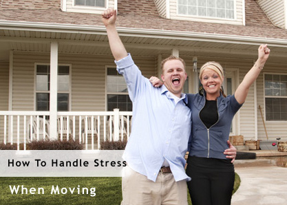 Handling the stress of moving