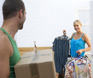 How to save money when moving - charity