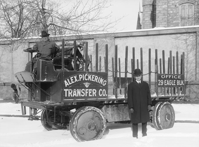 Moving Companies in the past