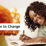 How to change address when moving