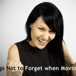 Forget when moving
