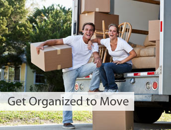 get organized to move