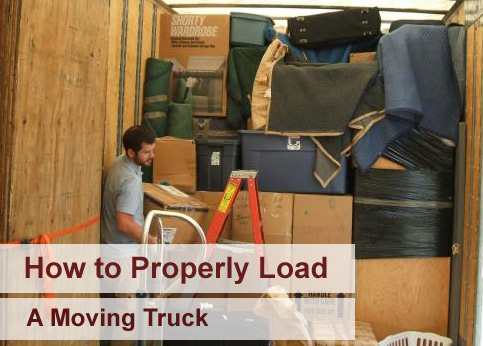 How to properly load a moving truck