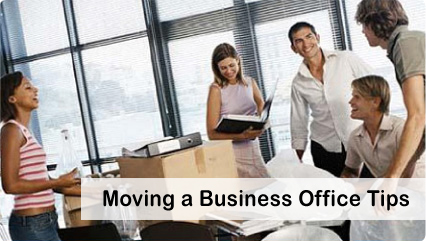 Moving a business office