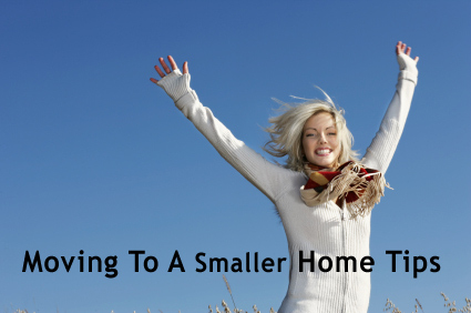 Moving to a smaller home tips