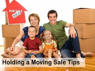 Moving sale when moving out