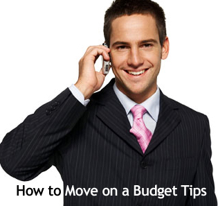 Moving on a budget tips