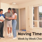 Moving timeline - week by week cecklist