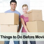 What things to do before moving