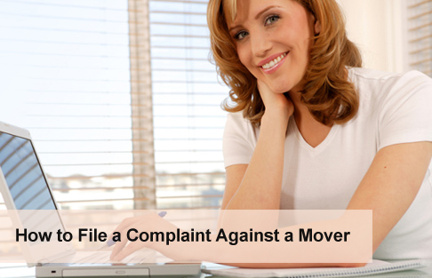 File complaint against a mover
