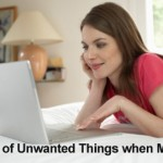 Get rid of unwanted things when moving