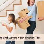 Packing and moving a kitchen