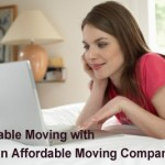 Affordable moving with a moving company