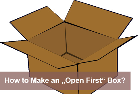 Open first box