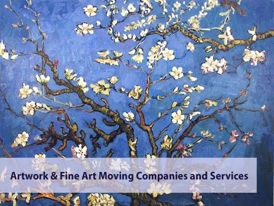 Van Gogh - &quot;Almond Tree&quot; Painting