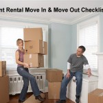 Apartment rental checklist