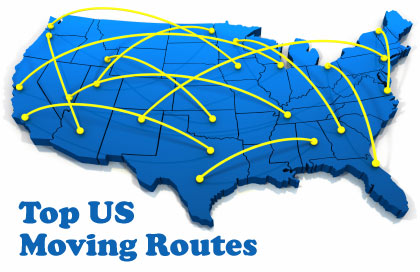 top moving routes