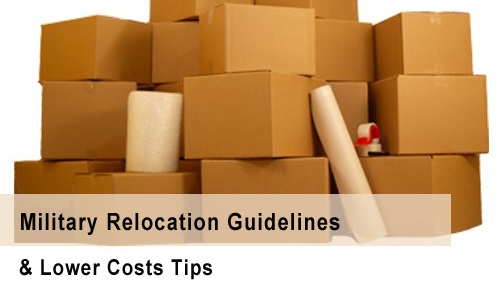 Military relocation guidelines
