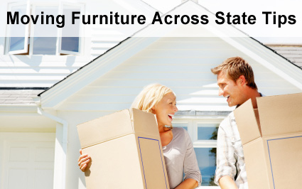 Move furniture cross state