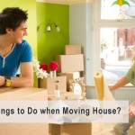 Things to do with moving house