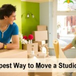 Cheapest way to move a studio