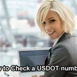 Check a USDOT number