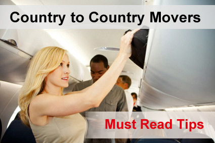 Country to country movers