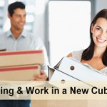 Moving a cubicle