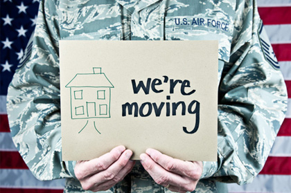 Military families moving tips