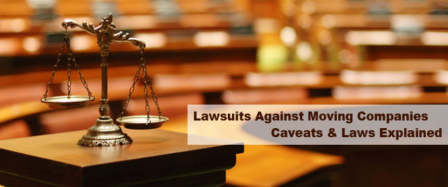 Lawsuit against Moving Companies