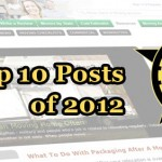 Top 10 posts of 2012