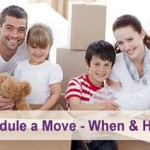 How to schedule a move