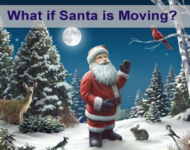 Santa is moving