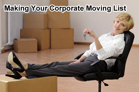 Corporate moving list