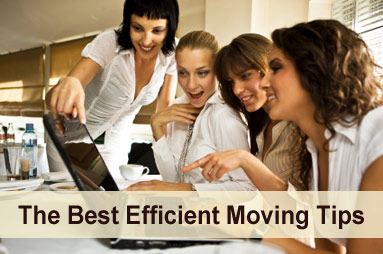 Efficient moving tips