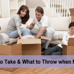 How to decide what to keep when moving