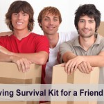 A friend moving survival kit
